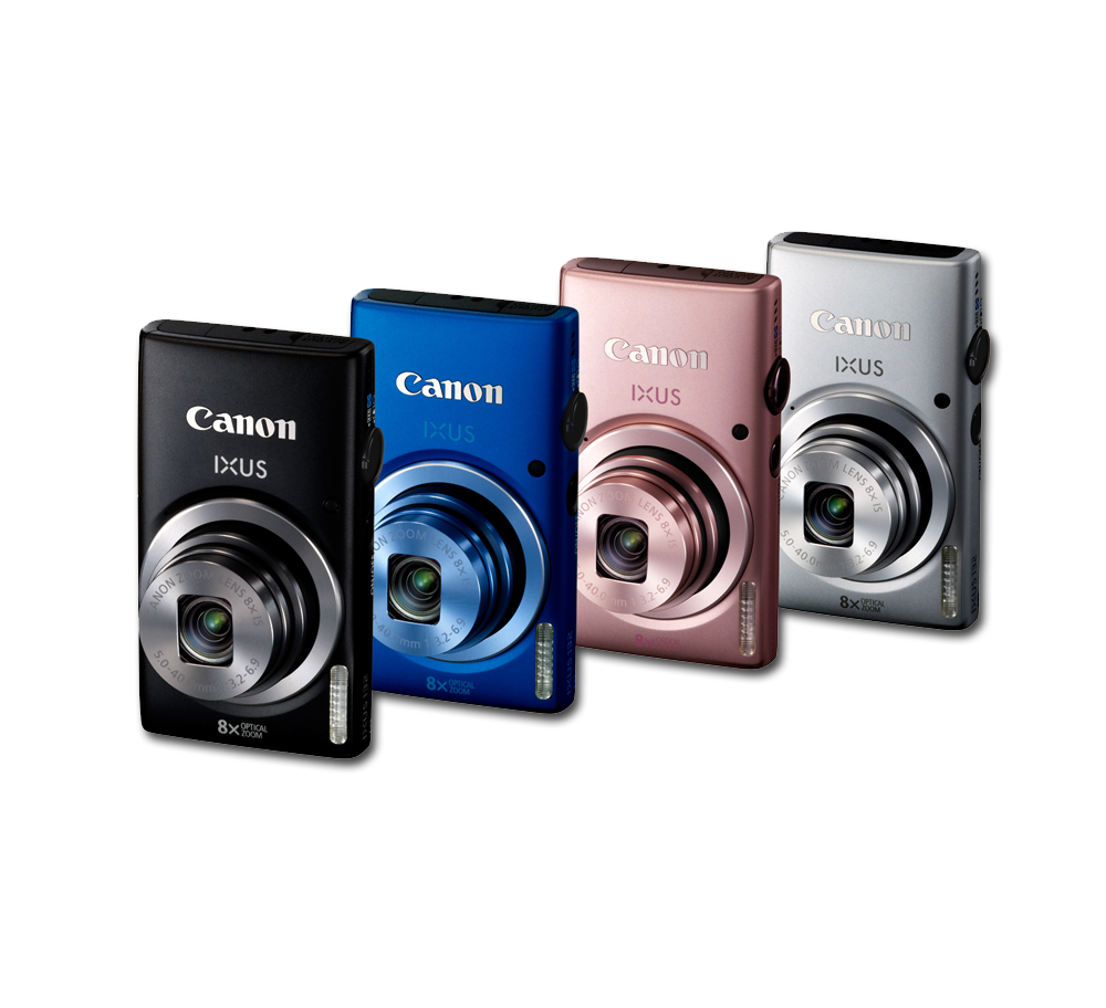 Các màu của dòng máy ảnh giá rẻ Canon Ixus 132 khá đa dạng