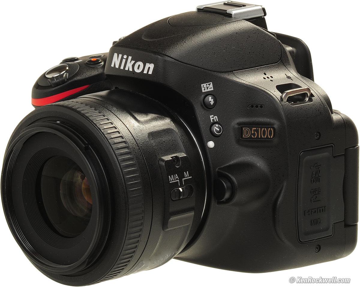 D5100 thuộc dòng máy ảnh giá rẻ của Nikon với chất lượng cao