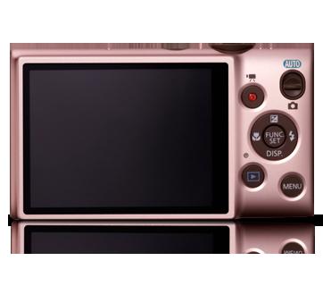 Màn hình LCD chất lượng cao được tích hợp trong máy ảnh giá rẻ Canon Ixus 132