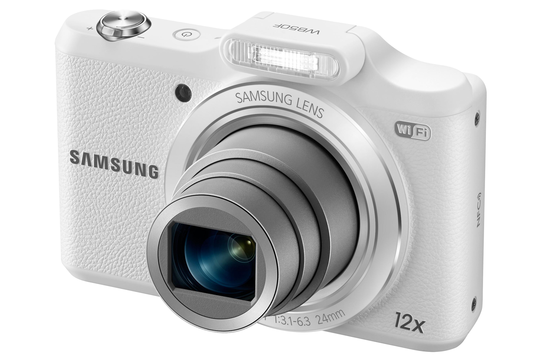 Máy ảnh số hiệu EC WB 50F của Samsung sở hữu zoom quang lên đến 12x