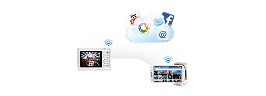 Máy ảnh giá rẻ của Samsung có khả năng kết nối tốc độ cao