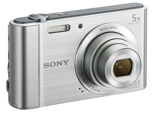Mẫu máy ảnh giá rẻ Sony W800 được thiết kế tinh xảo đến từng chi tiết