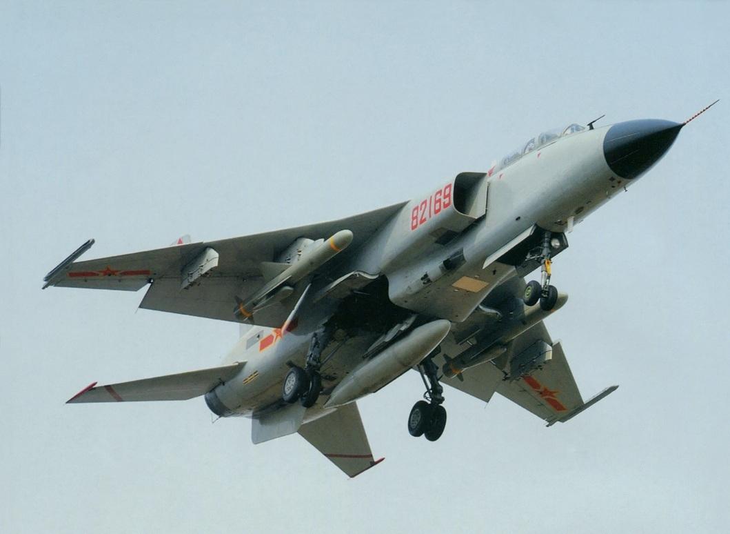 Trung Quốc vừa cử một máy bay chiến đấu JH-7 đi 'rình mò' không phận Ấn Độ