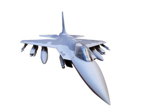 Hình ảnh sơ bộ chiếc máy bay chiến đấu nội địa KF-X của Hàn Quốc