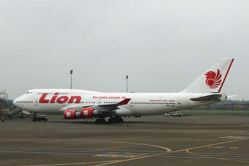 Một máy bay Boieng của hãng hàng không Lion Air, Indonesia