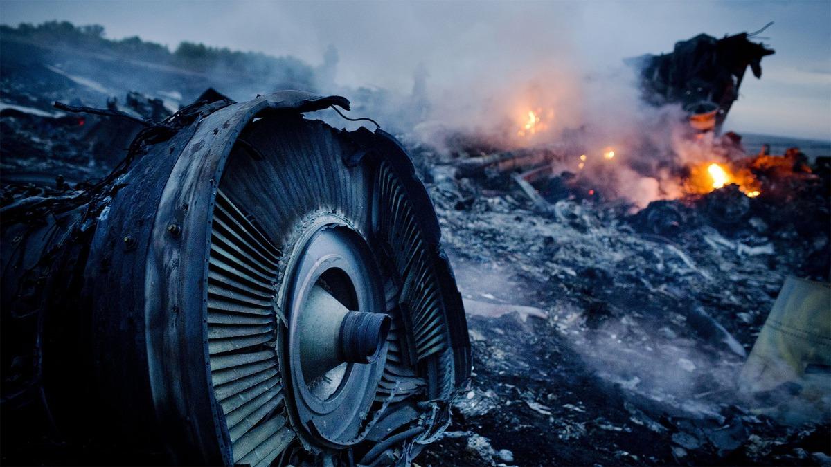 Máy bay MH17 của Malaysia rơi ở Donbass, miền Đông Ukraine vào ngày 17/7/2014 khiến 298 người thiệt mạng