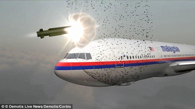 Giả thuyết của BBC trái với kết luận điều tra chính thức nói rằng máy bay MH17 bị tên lửa bắn hạ
