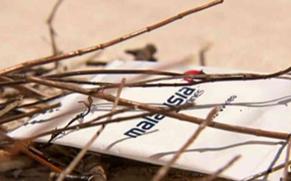 Chiếc khăn ướt được tìm thấy gần vùng biển tìm kiếm máy bay MH370