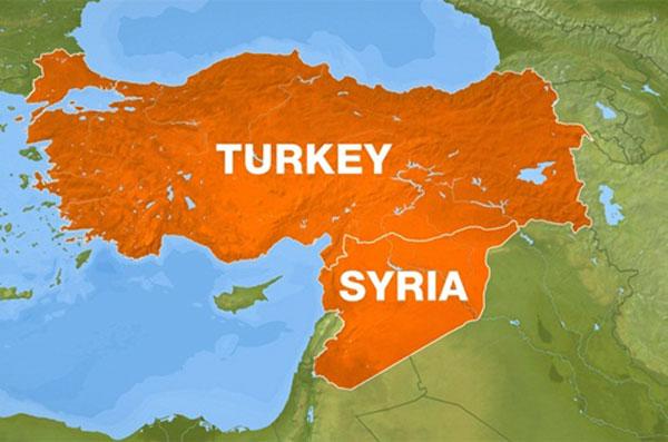 Biên giới Thổ Nhĩ Kỳ - Syria