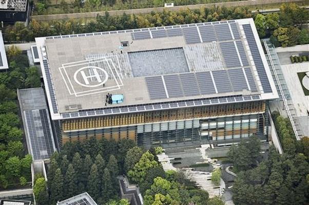 Máy bay rơi trên nóc văn phòng Thủ tướng Nhật do Trung Quốc sản xuất