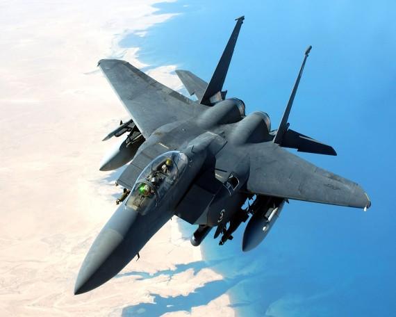 Máy bay tiêm kích F-15 Eagle là chiến cơ uy lực nhất thế giới