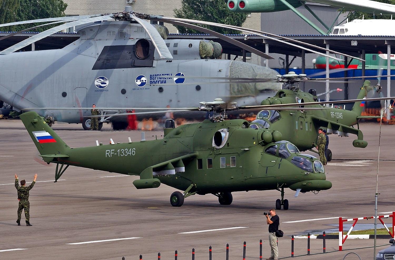 Ngoài ra, Mi-35MS còn được trang bị tổ hợp chặn thăm dò vô tuyến điện, hệ thống bảo vệ chủ động chống phương tiện tên lửa phòng không dẫn hướng hồng ngoại.