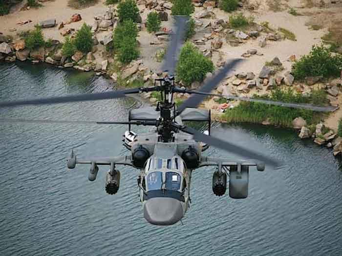 Máy trực thăng tấn công Ka-52 sở hữu nhiều trang thiết bị hiện đại