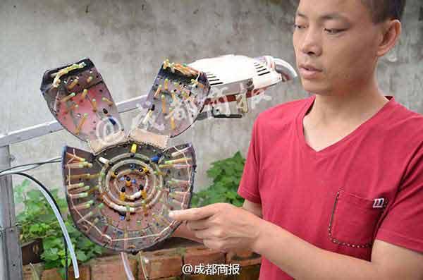 Nhà sáng chế Cheng Gongke và máy gội đầu tự đồng do anh phát minh