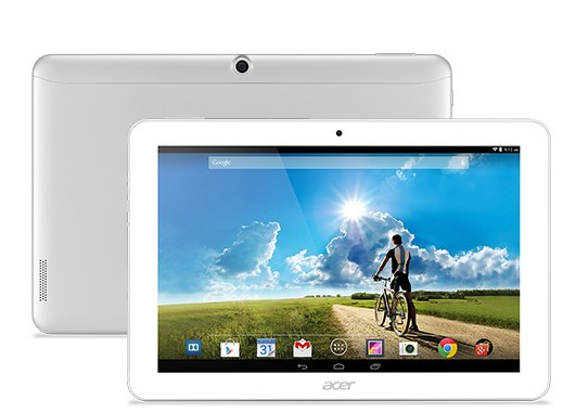 Máy tính bảng giá rẻ Acer Iconia Tab 10 mới lạ nghe gọi tiện ích