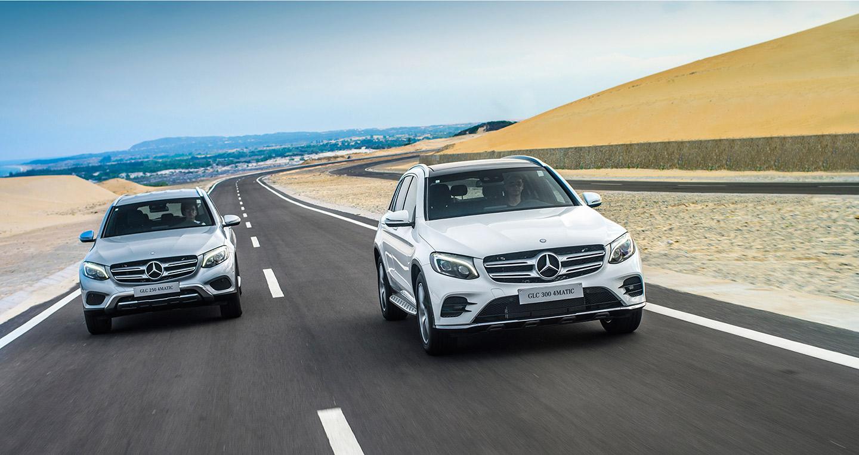 Mercedes-Benz GLC hoàn toàn mới ra mắt thị trường Việt