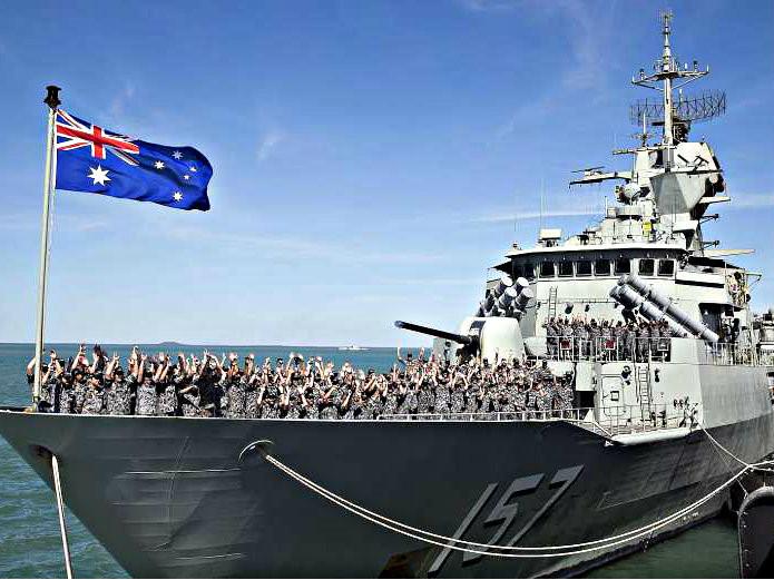 Australia từng để ngỏ khả năng đưa tàu vào tuần tra Biển Đông
