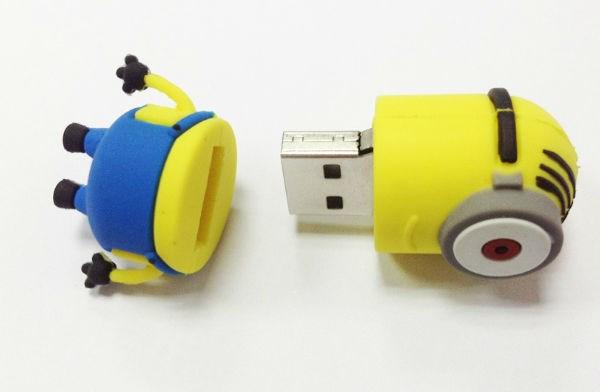 Giới công nghệ cũng nhanh chóng tận dụng trào lưu Minions cho chiếc vỏ USD đầy sáng tạo