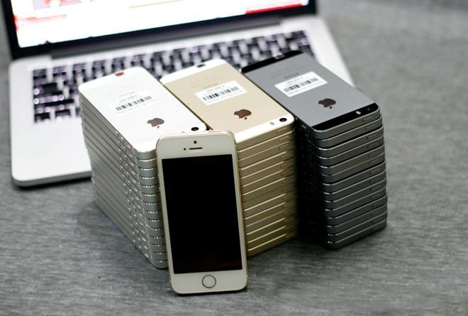 Tâm lý thích mua iPhone 5S cũ, mua iPhone 6 đã qua sử dụng của người dùng giúp nhiều cửa hàng điện thoại di động ăn nên làm ra