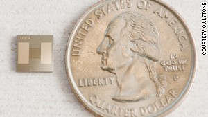 Với hình dáng siêu nhỏ, loại vi mạch này có tác dụng như một chiếc mũi điện tử, giúp phát hiện bệnh tật qua mùi cơ thể