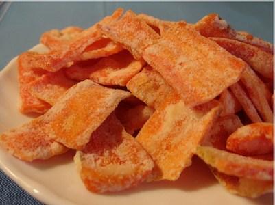 Mứt cà rốt thơm, ngon, bổ
