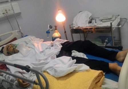 Nam sinh G. đang phải theo dõi sát ở bệnh viện Đa khoa TP Cần Thơ.