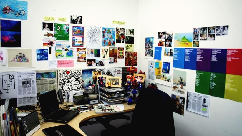 Một chút thay đổi màu sắc văn phòng có thể nâng cao năng suất làm việc