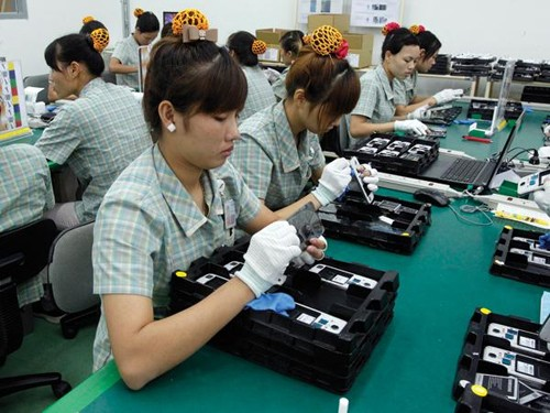 Năng suất lao động ở Việt Nam đạt thấp