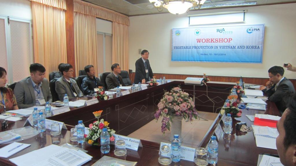 Hàn Quốc hỗ trợ Việt Nam nâng cao chất lượng rau quả