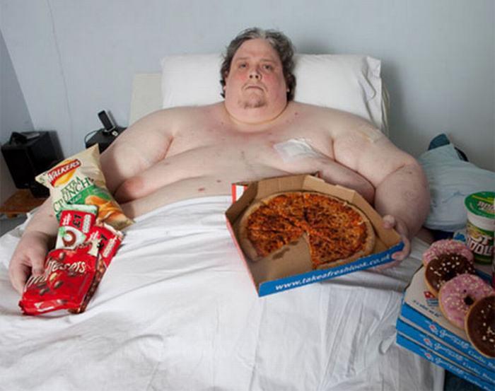 Người nặng nhất thế giới tên Briton Keith Martin sống tại Anh