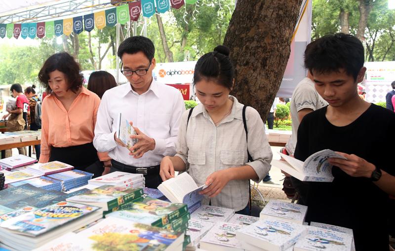Ngày hội sách Việt Nam có nhiều hoạt động văn hóa bổ  ích
