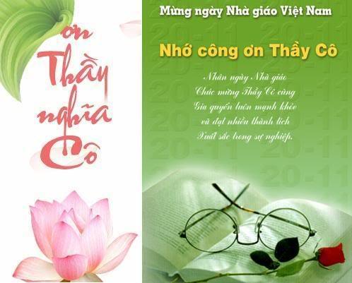 Những vần thơ hay cũng là một món quà ý nghĩa gửi đến thầy cô nhân ngày nhà giáo Việt Nam 20/11