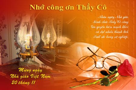 Những bài thơ về ngày nhà giáo Việt Nam 20/11 luôn chứa đựng lòng biết ơn, tri ân sâu sắc của học trò dành cho thầy cô giáo