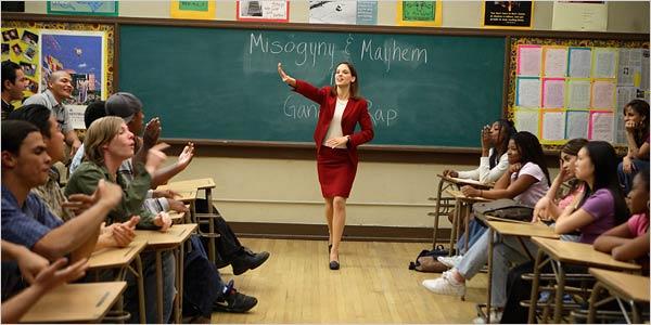 """""""Freedom Writer"""" là câu chuyện có thật về cô giáo Erin Gruwell"""