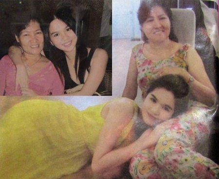 Ngọc Trinh rất yêu thương và trân trọng người mẹ kế của mình