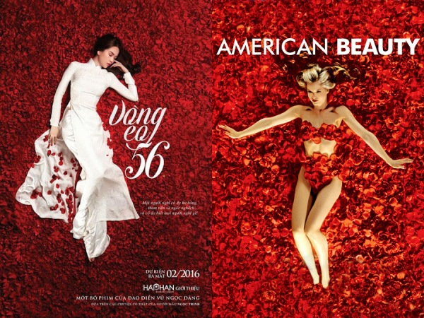 Poster phim tiền tỷ của Ngọc Trinh có nhiều điểm tương đồng với phim Hollywood