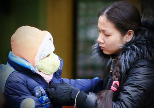 Hà Nội: Học sinh nghỉ học đồng loạt vì rét đậm, rét hại