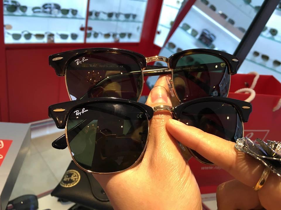 Nghi vấn mua phải kính Rayban giả ở Hà Nội