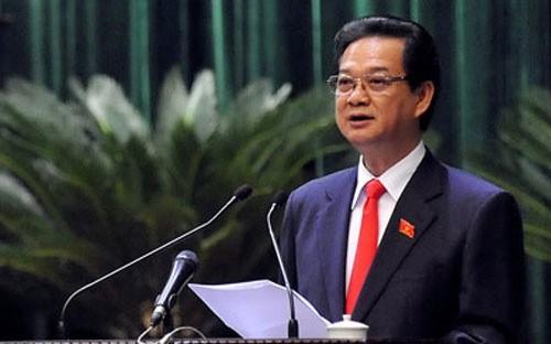 Thủ tướng Nguyễn Tấn Dũng phê chuẩn nhân sự 4 tỉnh, thành phố