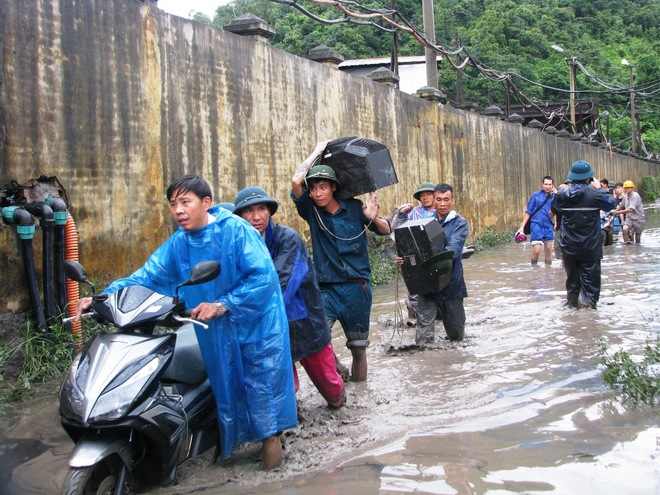 mưa lũ ở quảng ninh