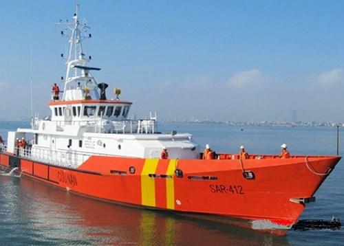 Trung tâm phối hợp tìm kiếm cứu nạn hàng hải Việt Nam kịp thời cứu nạn thành công 31 ngư dân