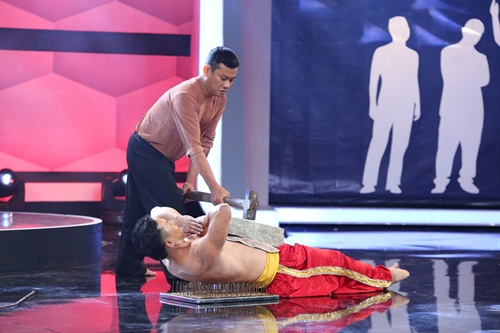 Tiết mục kungfu ấn tượng nhất trong chương trình Người bí ẩn tập 6