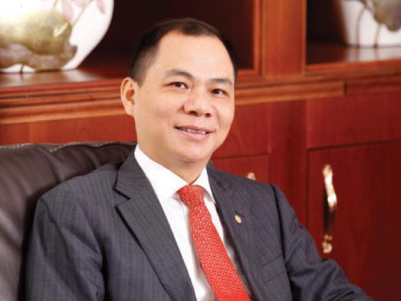 Vợ chồng tỷ phú Phạm Nhật Vượng liên tục được vinh danh trong bảng xếp hạng doanh nhân giàu nhất Việt Nam