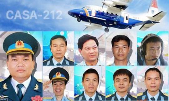 Chân dung 9 liệt sĩ trên máy bay CASA gặp nạn trong lúc tìm kiếm phi công Trần Quang Khải và tiêm kích Su-30MK2