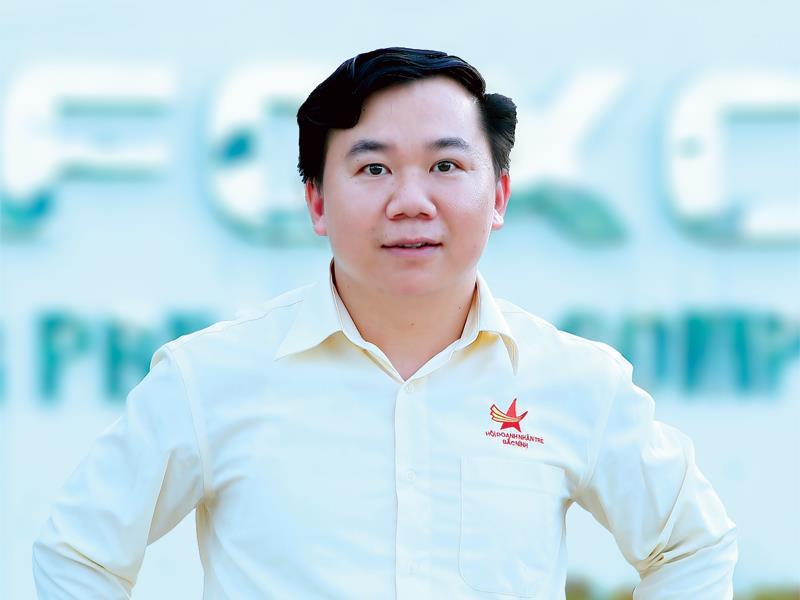doanh nhân 8X Nguyễn Duy Hà. Ảnh: báo Đầu tư