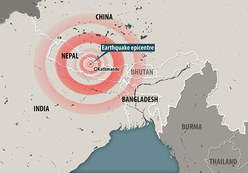 Nguyên nhân động đất mạnh hay xảy ra tại Nepal