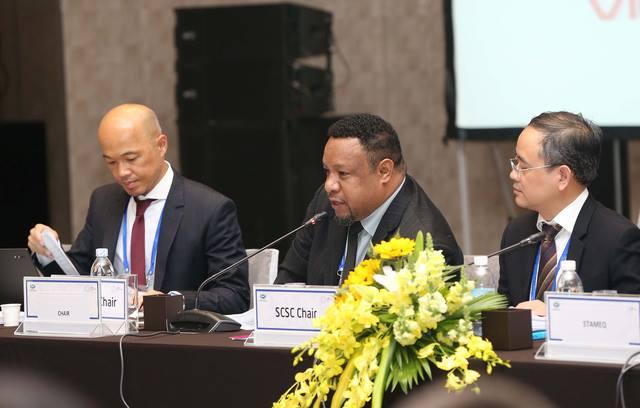 Đại diện thành viên các nền kinh tế trong APEC tại cuộc họp