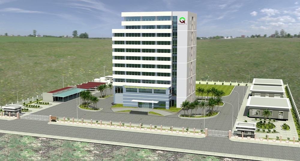 Phối cảnh tòa nhà Trung tâm Kỹ thuật TCĐLCL 4 (QUATEST 4)