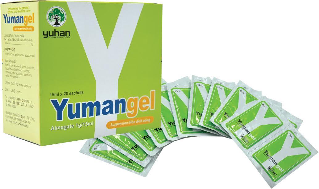 Thuốc Yumangel – Thuốc dạ dày chữ Y có tác dụng giảm tác hại của rượu bia với dạ dày