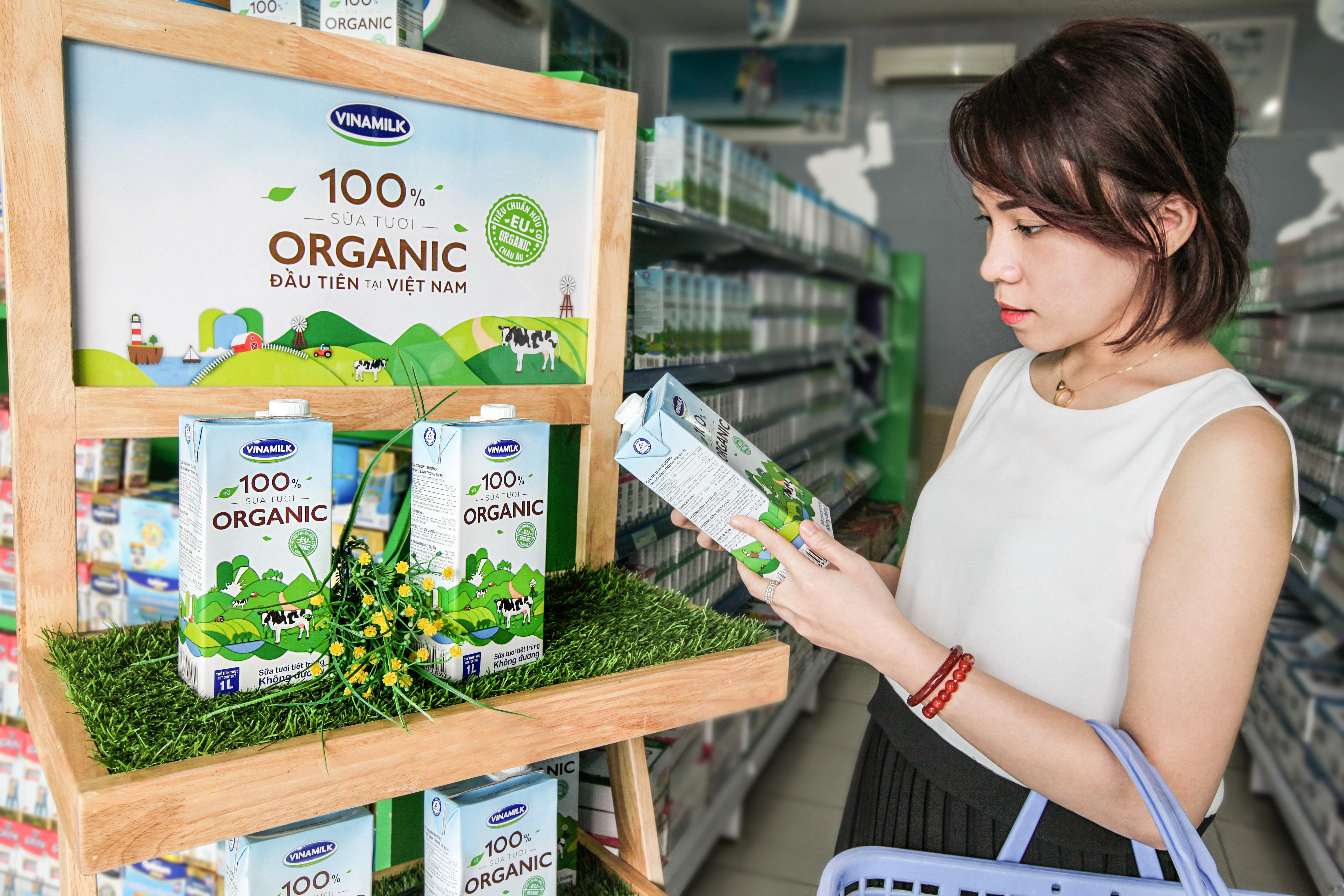 Vinamilk là một trong những thương hiệu luôn dành được sự quan tâm của người tiêu dùng.